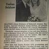Matthew Feehan RFP 2 October 1993