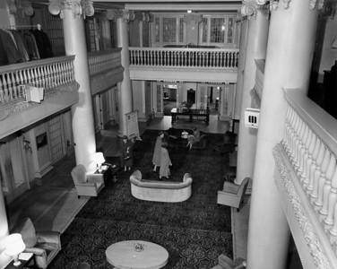 Elegant lobby 1950