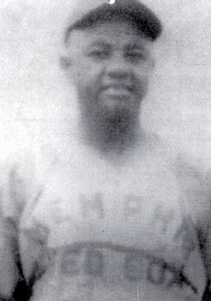 "Ted ""Double Duty"" Radcliffe.  Ted is the oldest living player. (2003)<br /> <br /> He was one of the greatest catchers and pictures to play in the Negro Baseball League.<br /> <br /> That is how he got his name ""Double Duty."""
