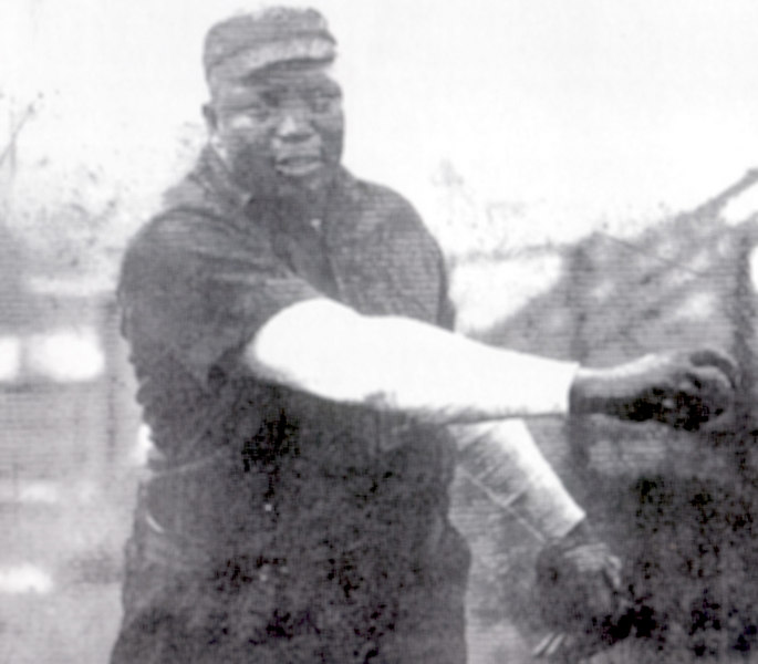 "Rube Foster organized the Negro National League in 1920.<br /> <br /> No player stayed on Foster's American Giants unless he could bunt a ball into a circle drawn along one of the foul lines.<br /> <br /> Any player who was tagged out standing up had to pay a $5.00 fine.  His philosophy was, ""you are supposed to slide."""