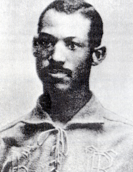 """My skin is against me.""  <br /> <br /> Moses Fleetwood Walker, the first and last black man to play in the Major League, 63 years prior to Jackie Robinson.<br /> <br /> Walker joined the Toledo Blue Stockings of the American Association as a catcher in 1884."