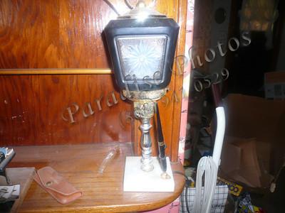 lamp and pen holder lattern style