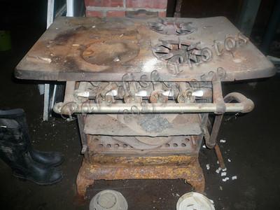 iron cook stove 1800s