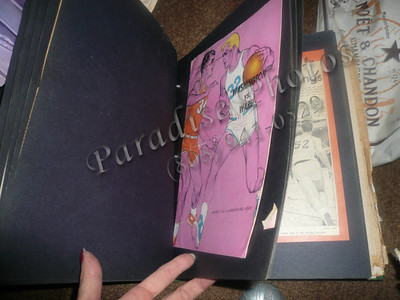 WARD HIGH School scrap book 1962 to 1964