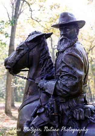 Monument, Gettysburg battlefield in PA.