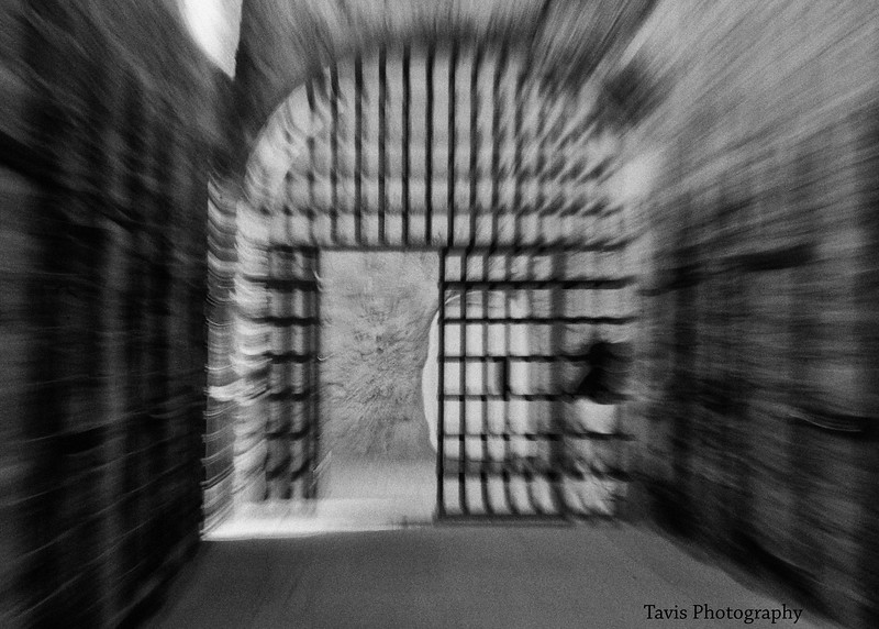 'The Light'  Taken at Yuma Territorial Prison'                      ----Effect was created by pulling in the zoom lens at a low shutter speed.