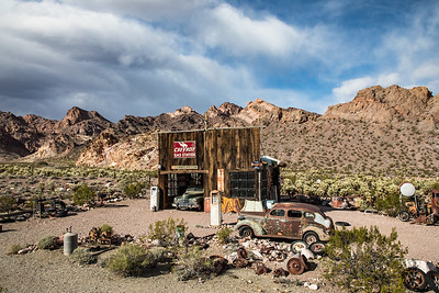 El Dorado Canyon Historic Gas Station, Nevada