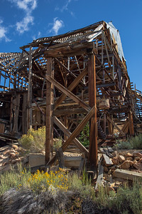 Chemung Mine Ruins, East of Bridgeport, California