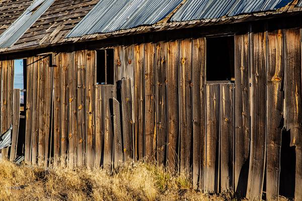 Historic Barn on Center Ridge Road, North-Central Oregon