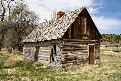 Childhood Home of Butch Cassidy, near Circleville, Highway 89, Utah