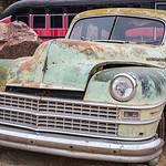 Abandoned Chrysler, El Dorado Canyon Ghost Town, Nevada