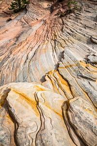 Sandstone Layers, East Rim, Zion National Park, Utah