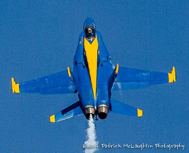 2014 September 21 Blue Angels over VB with hitpics logo-20