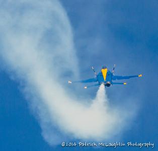 2014 September 21 Blue Angels over VB with hitpics logo-15