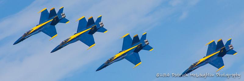 2014 September 21 Blue Angels over VB with hitpics logo-11