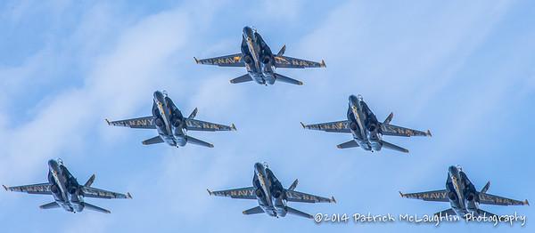 2014 September 21 Blue Angels over VB with hitpics logo-13