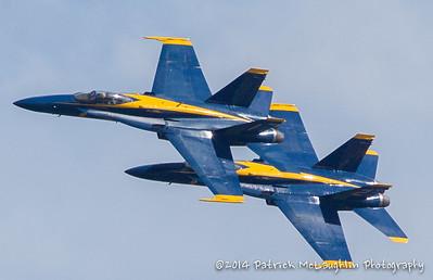 2014 September 21 Blue Angels over VB with hitpics logo-5