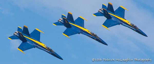 2014 September 21 Blue Angels over VB with hitpics logo-9