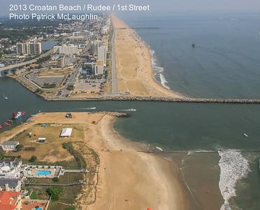 2013 Croatan Beach / Rudee Inlet / 1st Street Aerials