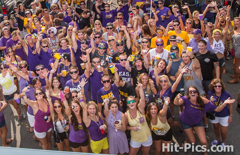 ECU PIRATE TAILGATE PARTY AUGUST 30, 2014