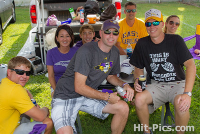 2014 AUGUST 30 PIRATE TAILGATE PARTIES NEAR STADIUM