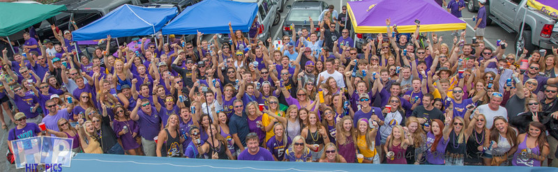 ECU SEPTEMBER ELM STREET PARKING LOT TAILGATE PARTY