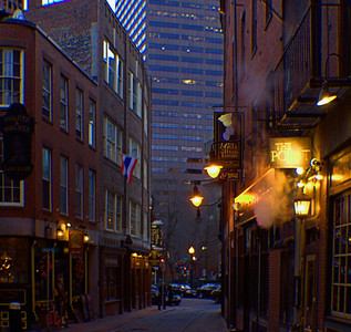 Boston Alley Boston, MA  December 19, 2012 Read the story: http://www.billterry1.com/2012/12/an-afternoon-in-boston.html