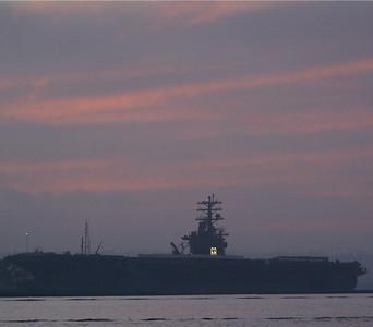 11/22/08  CVN-68, USS Nimitz San Diego, CA