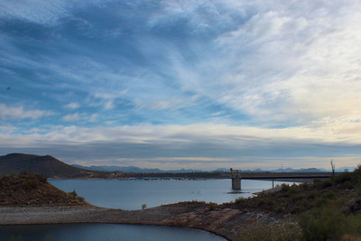 Lake Pleasant Marina HDR Lake Pleasant, AZ December 16, 2010