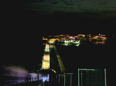 Scorpion Bay Marina after Dark HDR image Lake Pleasant, AZ December 18, 2010