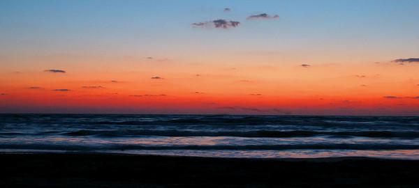 Pre-sunrise South Padre Island, TX October 3, 2010