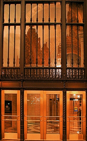 Bank Door Chicago, IL August 3, 2010