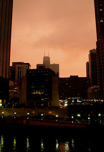 Night Landscape 2 Chicago, IL  August 3, 2010