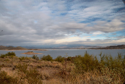 Lake Pleasant Scenic 1 HDR Lake Pleasant, AZ  December 16, 2010  Read the story: http://www.billterry1.com/2010/12/hdr-scenics-lake-pleasant.html
