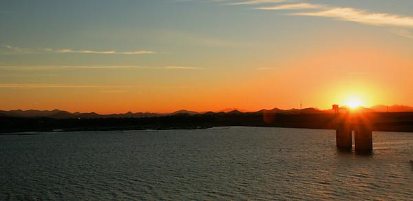 Anniversary Sunrise Lake Pleasant, AZ November 19, 2010