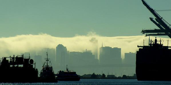 San Francisco Skyline Oakland, CA  September 16, 2010