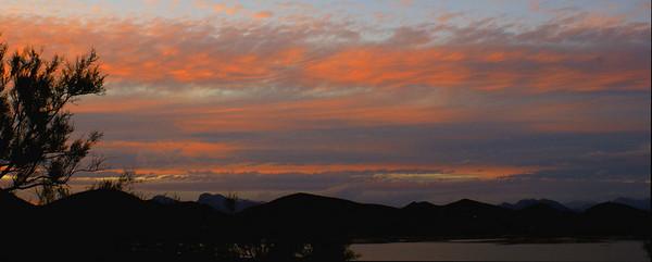 Anniversary Weekend Sunset Lake Pleasant, AZ November 20, 2010