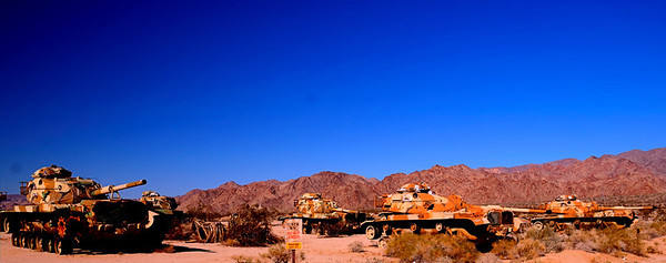 Retired Tanks