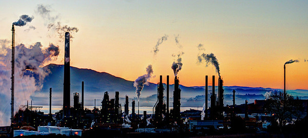 Refinery Sunrise