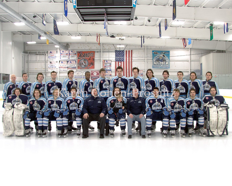 NJ Hitmen  team  photos  2013-2014 season