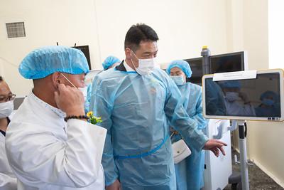 2021 оны есдүгээр сарын 9.   УГТЭ-ийн Эрчимт эмчилгээ, мэдрэлийн мэс заслын тусламж үйлчилгээний чадавхийг дээшлүүлэхэд нэн шаардлагатай орчин үеийн багаж хэрэгслийг хүлээлгэн өгөх арга хэмжээ боллоо.  ГЭРЭЛ ЗУРГИЙГ Т.МӨНХ-УЧРАЛ/MPA