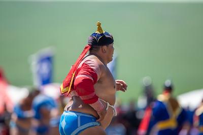 2020 оны долдугаар сарын 12. Тулгар төрийн 2229, Их Монгол Улсын 814, Ардын хувьсгалын 99 жилийн ой, Үндэсний их баяр наадам эхэллээ. Хүчит бөхийн барилдаан ГЭРЭЛ ЗУРГИЙГ Б.БЯМБА-ОЧИР/MPA