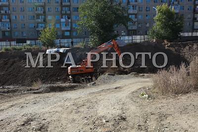 2021 оны есдүгээр сарын 13. Жуковын талбайн арын газрыг чөлөөлөх, барилга барих ажлыг зогсоох үйл явц саатжээ. ГЭРЭЛ ЗУРГИЙГ И.НОМИН/MPA