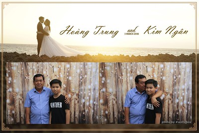Hoang Trung & Kim Ngan Wedding Photobooth