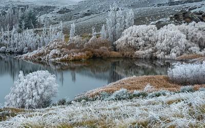 05 Hoar frost Butchers Dam