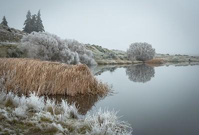 01  Hoar frost butchers dam