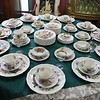 A large set of dinnerware for sale at Hobart Village Mall Antiques in Townsend. SENTINEL & ENTERPRISE/JOHN LOVE