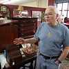 Dick Fiorentino owner of Hobart Village Mall Antiques talks the history of the his shop in Townsend. SENTINEL & ENTERPRISE/JOHN LOVE
