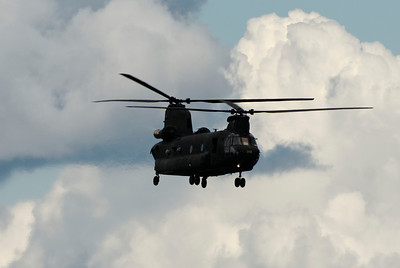 A Chinook Helicopter which Happened to be at the Airport