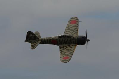FHC Fly Day (Curtiss P-40C Tomahawk & Mitsubishi A6M3-22 Reisen (Zero)) - June 8, 2013